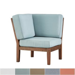 Yasawa Modern Brown Outdoor Cushioned Sectional Wood Corner Chair by iNSPIRE Q Oasis|https://ak1.ostkcdn.com/images/products/13192595/P19913743.jpg?impolicy=medium