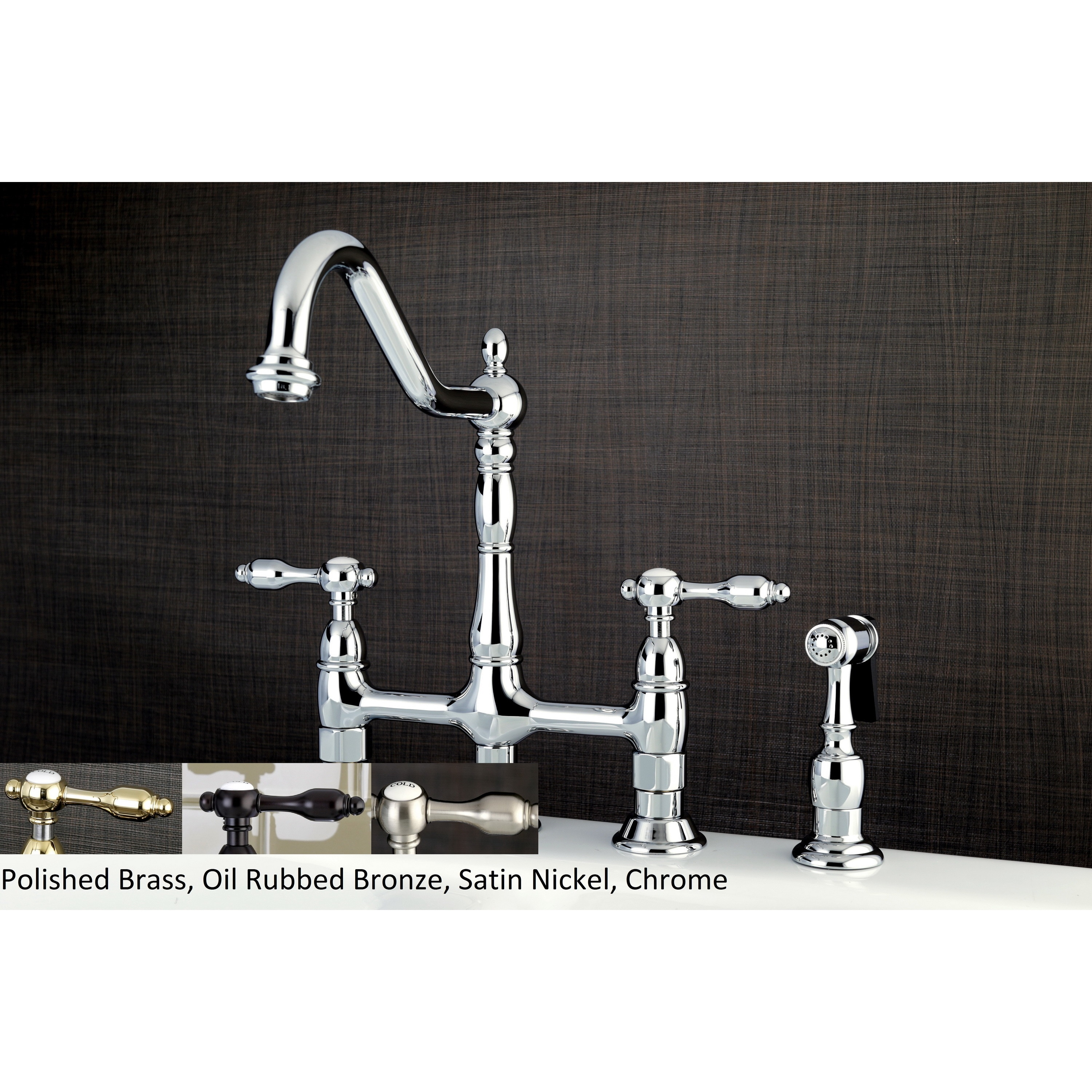 Buy Chrome Finish Kitchen Faucets Online at Overstock.com | Our Best ...