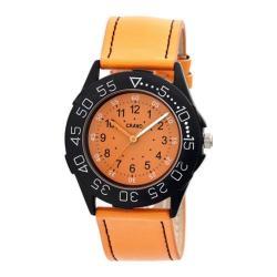 Men's Crayo Fun Quartz Watch Orange /Orange