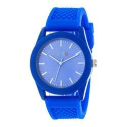 Men's Crayo Storm Quartz Watch Blue Silicone/Blue