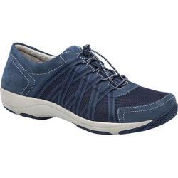 Women's Dansko Honor Sneaker Blue Suede