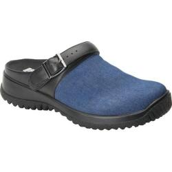 Women's Drew Savannah Clog Blue Denim Fabric (More options available)