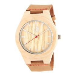 Men's Earth Watches Aztec Quartz Watch Camel Leather/Khaki/Tan