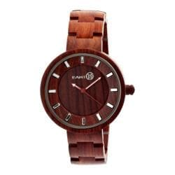 Men's Earth Watches Branch Quartz Watch Red Wood/Red