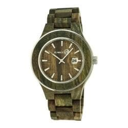 Men's Earth Watches Cherokee Quartz Watch Olive Wood/Olive