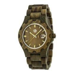 Men's Earth Watches Gila Quartz Watch Olive Wood/Olive