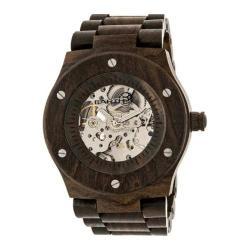 Men's Earth Watches Grand Mesa Automatic Watch Dark Brown Wood/Dark Brown