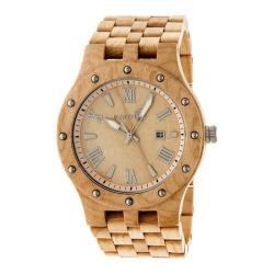 Men's Earth Watches Inyo Quartz Watch Khaki/Tan Wood/Khaki/Tan