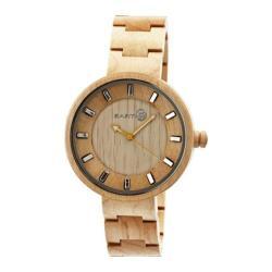 Men's Earth Watches Root Quartz Watch Khaki/Tan Wood/Khaki/Tan