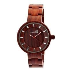 Men's Earth Watches Root Quartz Watch Red Wood/Red