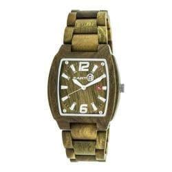 Men's Earth Watches Sagano Quartz Watch Olive Wood/Olive