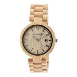 Men's Earth Watches Stomates Quartz Watch Khaki/Tan Wood/Khaki/Tan
