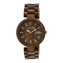 Men's Earth Watches Stomates Quartz Watch Olive Wood/Olive