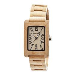 Men's Earth Watches Trunk Quartz Watch Khaki/Tan Wood/Khaki/Tan