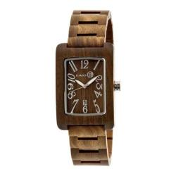 Men's Earth Watches Trunk Quartz Watch Olive Wood/Olive