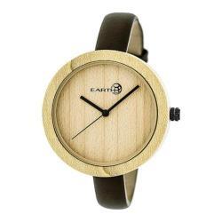 Men's Earth Watches Yosemite Quartz Watch Dark Brown Leather/Khaki/Tan