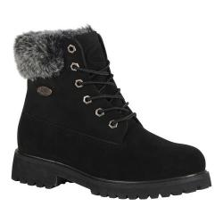 Women's Lugz Convoy Fur 6in Boot Black
