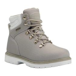 Women's Lugz Grotto Ripstop 6in Work Boot Grey/White