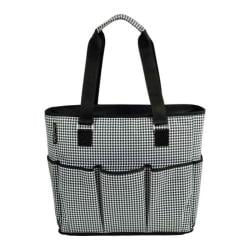 Picnic at Ascot Large Insulated Multi Pocket Travel Bag Houndstooth