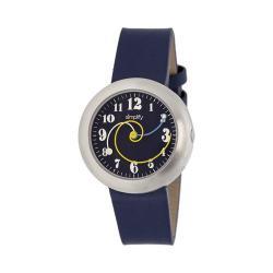 Men's Simplify The 2700 Quartz Watch Navy Leather/Navy