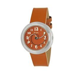 Men's Simplify The 2700 Quartz Watch Orange Leather/Orange