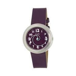 Men's Simplify The 2700 Quartz Watch Plum Leather/Plum
