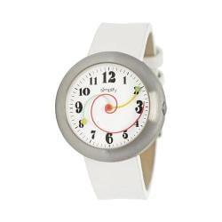Men's Simplify The 2700 Quartz Watch White Leather/White