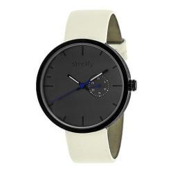 Men's Simplify The 3900 Quartz Watch Eggshell Leather/Charcoal
