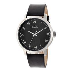 Men's Simplify The 4200 Quartz Watch Black Leather/Black