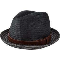 Men's Ben Sherman Plaited Brim Trilby Black