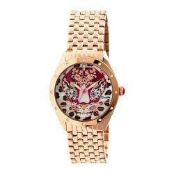 Women's Bertha Alexandra BR4704 Watch Rose Gold Stainless Steel/Multicolored