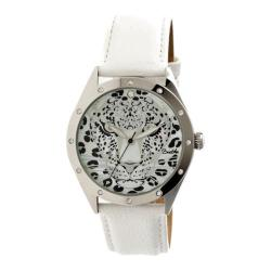 Women's Bertha Alexandra BR4705 Watch White Leather/Multicolored