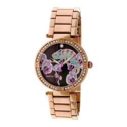 Women's Bertha Camilla BR6203 Watch Rose Gold Stainless Steel/Multicolored