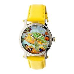 Women's Bertha Chelsea BR4902 Watch Yellow Leather/Multicolored