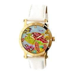 Women's Bertha Chelsea BR4903 Watch White Leather/Multicolored