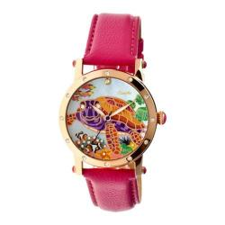 Women's Bertha Chelsea BR4904 Watch Hot Pink Leather/Multicolored