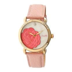 Women's Bertha Daphne BR4605 Watch Light Pink Leather/White