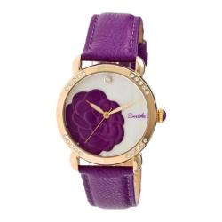 Women's Bertha Daphne BR4606 Watch Purple Leather/White