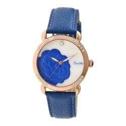 Women's Bertha Daphne Br4607 Watch Blue Leather/White