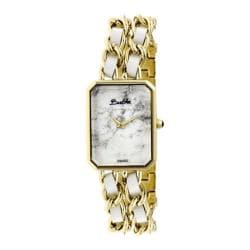 Women's Bertha Eleanor BR5903 Watch Gold Stainless Steel/White