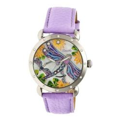 Women's Bertha Jennifer BR5002 Watch Lavender Leather/Multicolored