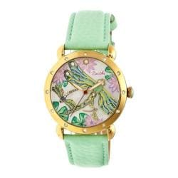 Women's Bertha Jennifer BR5003 Watch Mint Leather/Multicolored