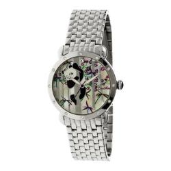 Women's Bertha Lilly BR4501 Watch Silver Stainless Steel/Multicolored