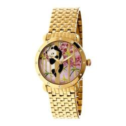 Women's Bertha Lilly BR4502 Watch Gold Stainless Steel/Multicolored