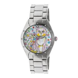 Women's Bertha Selina BR6101 Watch Silver Stainless Steel/Multicolored