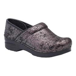 Women's Dansko Professional Clog Pewter Iridescent Leather