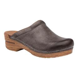 Women's Dansko Sonja Clog Stone Distressed Leather
