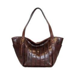 Women's Nino Bossi Begonia Bloom Medium Handbag Chocolate
