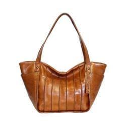 Women's Nino Bossi Begonia Bloom Medium Handbag Cognac