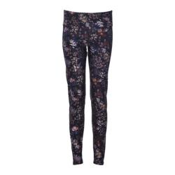 Women's Ojai Clothing Globe-Trotter Leggings Black Floral